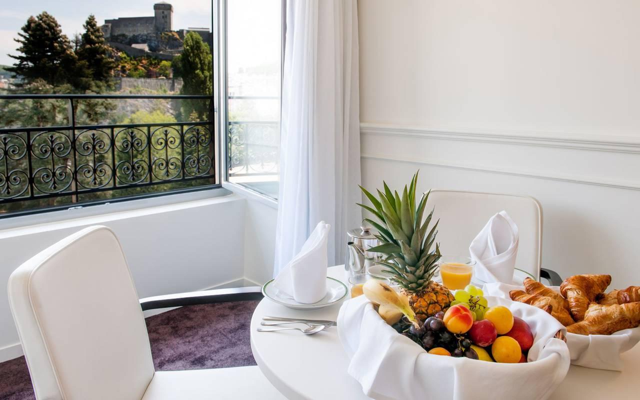 Breakfast, 4-star hotel Lourdes, Hôtel Gallia Londres