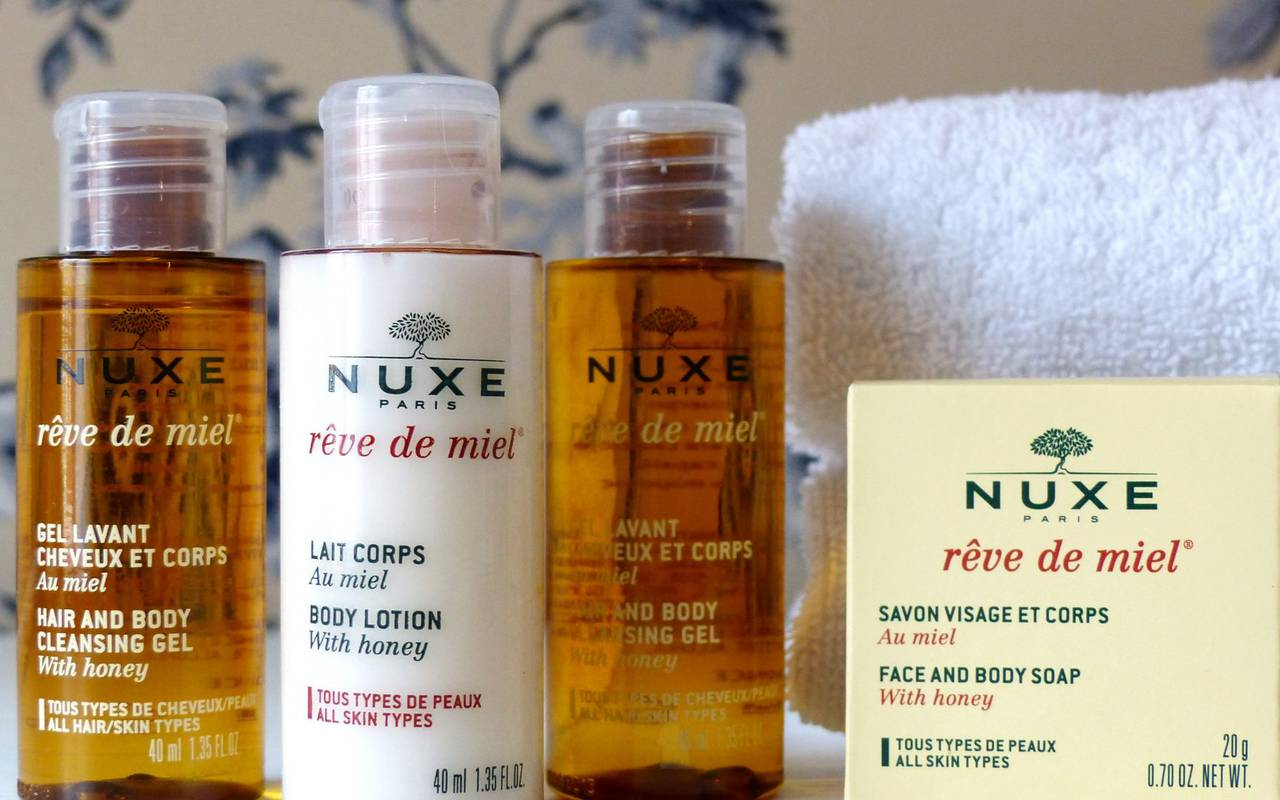 Nuxe soaps, 4-star hotel Lourdes, Hôtel Gallia Londres