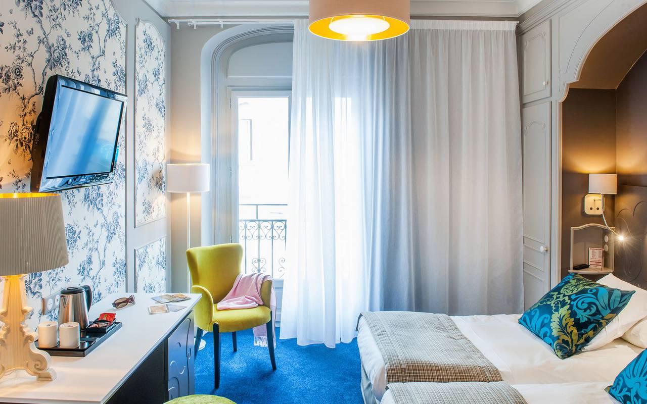 Cozy room, 4-star hotel Lourdes, Hôtel Gallia