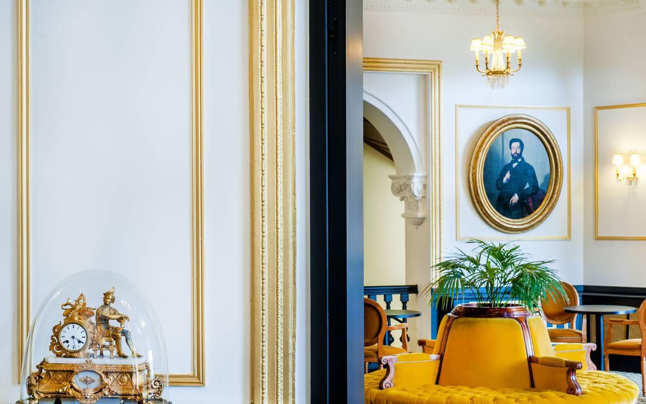 Chic decoration, spa hotel Hautes Pyrénées, Hôtel Gallia Londres