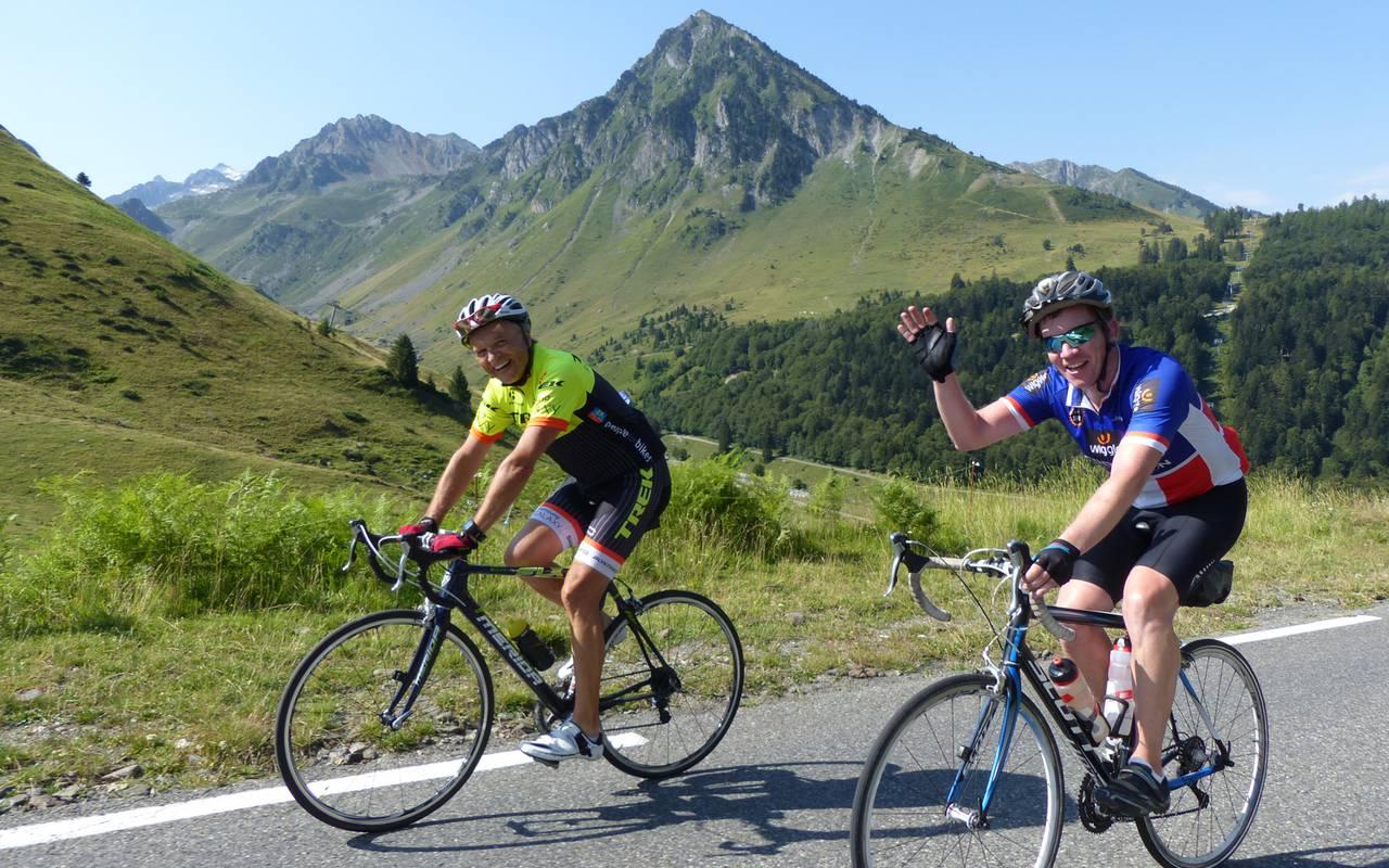 Cyclists, spa hôtel Hautes Pyrénées, Hôtel Gallia Londres