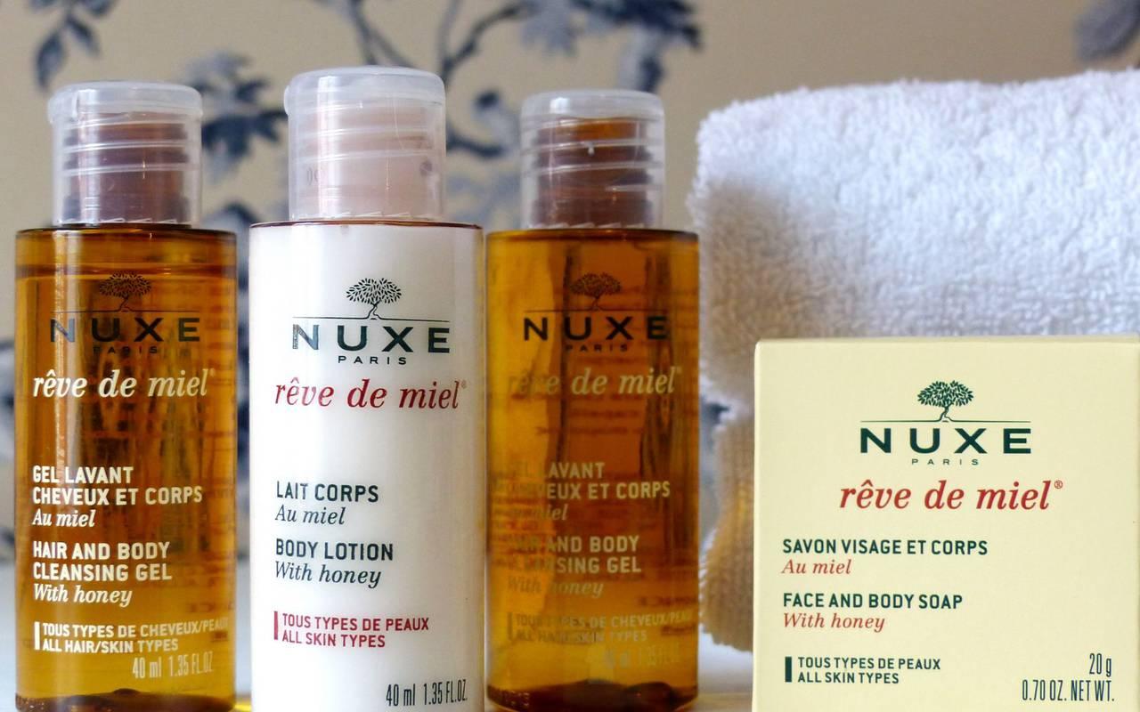 Nuxe products, 4-star hotel Lourdes, Hôtel Gallia Londres