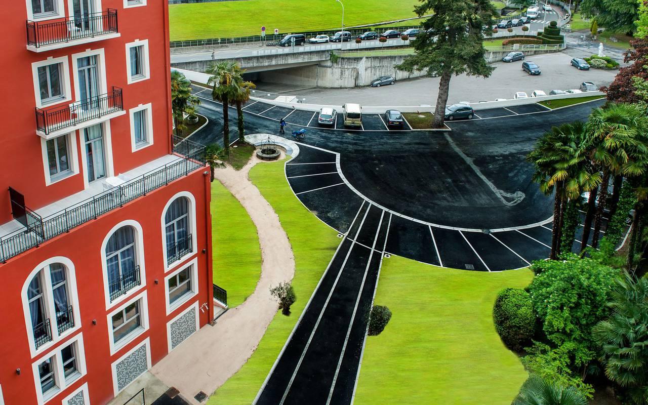 Parc, hôtel de luxe à Lourdes, Hôtel Gallia