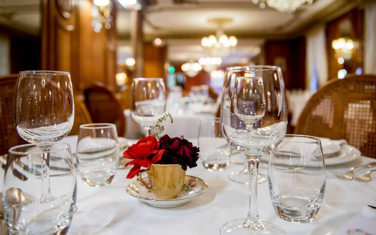 Restaurant, hôtel romantique Pyrénées, Hôtel Gallia Londres