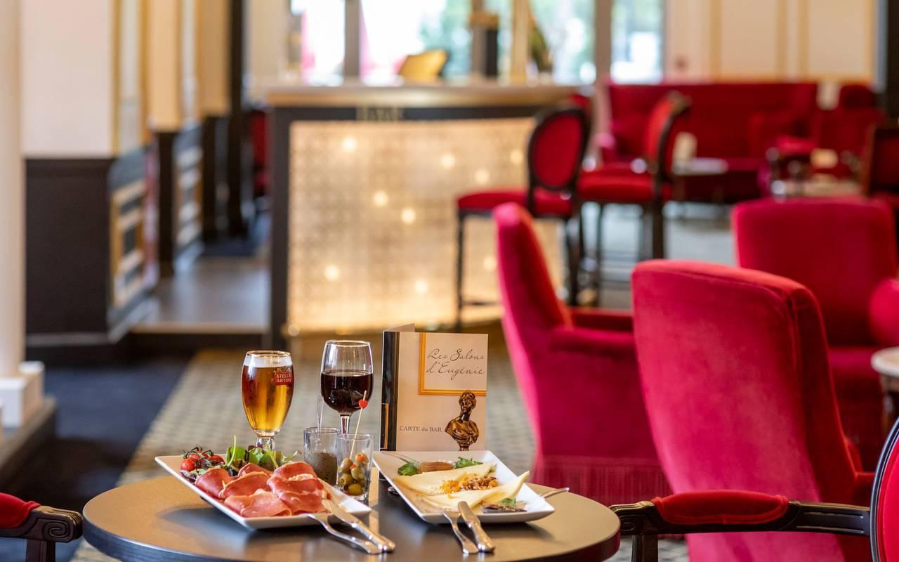 Tapas, hôtel spa Hautes Pyrénées, Hôtel Gallia Londres