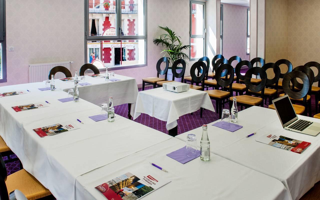 Salle de séminaire, hôtel spa Hautes Pyrénées, Hôtel Gallia Londres
